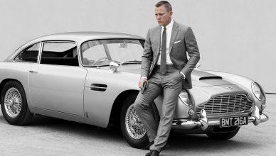 Aston Martin z filmu o Bondzie