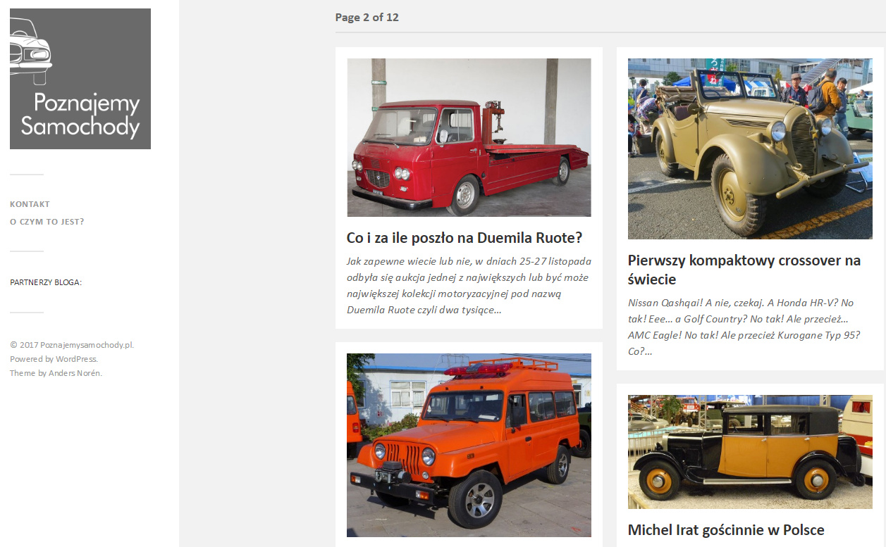 screen bloga o samochodach