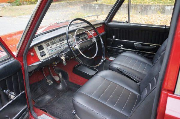 Deska rozdzielcza Fiat 125p
