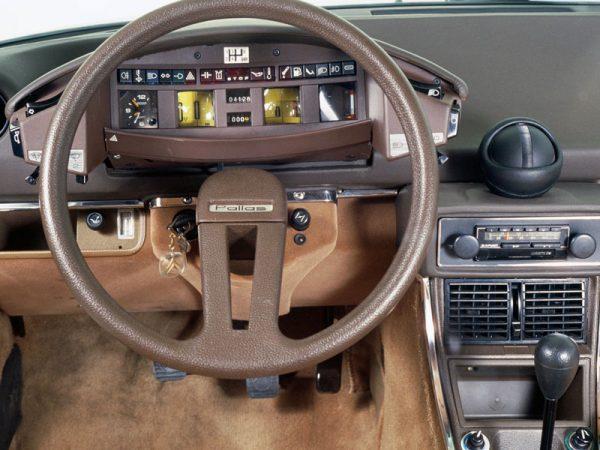 Deska rozdzielcza Citroen CX