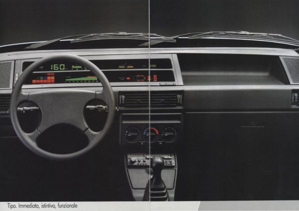 Deska rozdzielcza Fiat Tipo