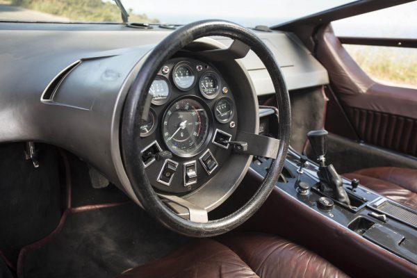 Deska rozdzielcza Maserati Boomerang