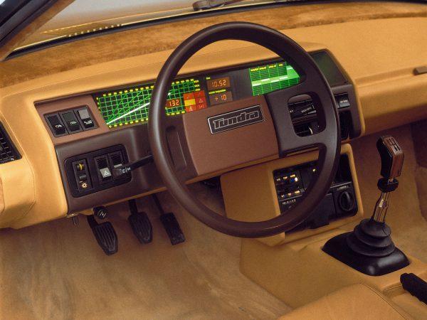 Deska rozdzielcza Volvo Tundra