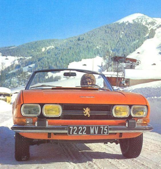 Wyjazd na narty kabrioletem
