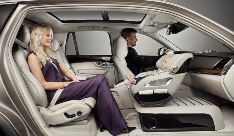 Nowoczesny fotelik samochodowy