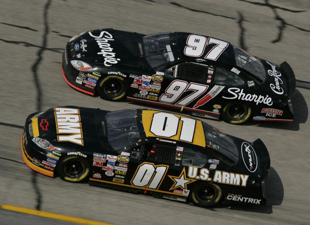 Auta w wyścigu NASCAR