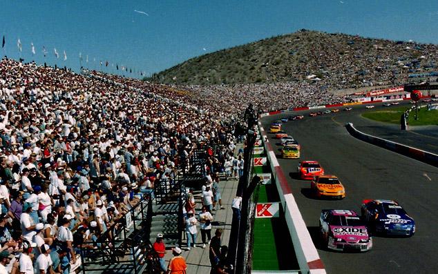 Kibice na wyścigu NASCAR