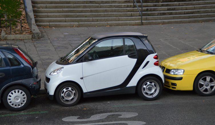 Parkowanie samochodu Smart