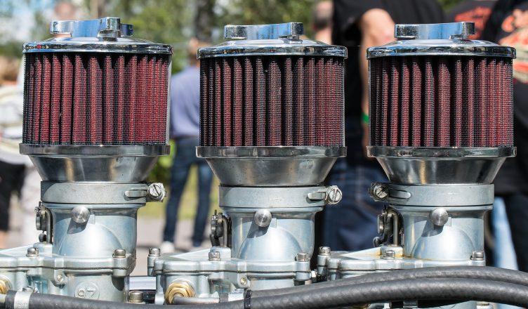 filtry powietrza samochodu
