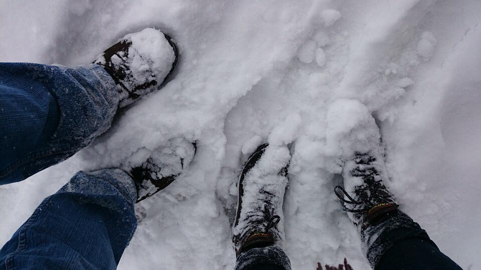 buty snieg