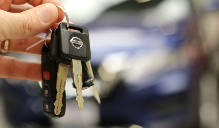 zgubienie kluczyków do samochodu