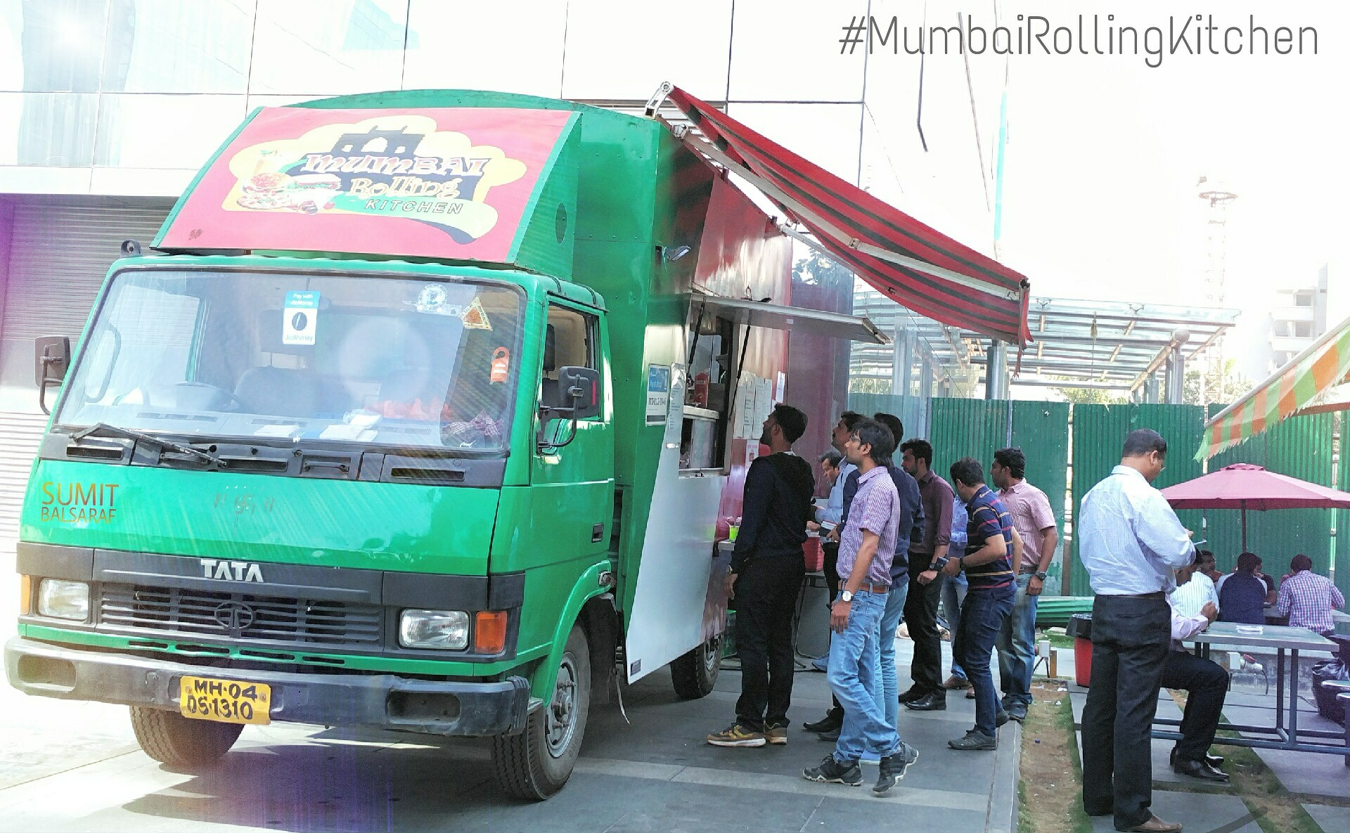 Mumbai Rolling Kitchen food truck