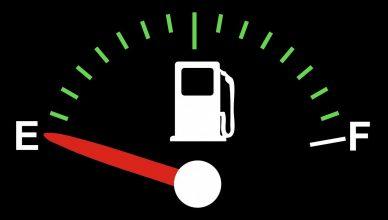 jazda na rezerwie paliwa